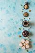 Leinwanddruck Bild - Arabic cookies Maamoul. Sweets background.