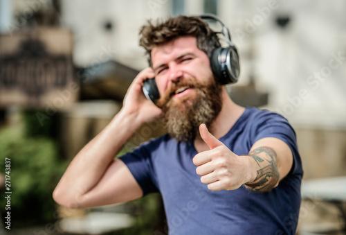 Fotomural Music beat for energetic mood