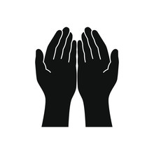 Gesture Of The Hands Folded In...