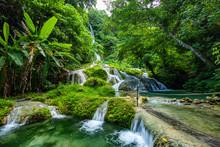 Mele Maat Cascades In Port Vila, Efate Island, Vanuatu, South Pacific