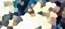 Abstract Artistic Geometric Colorful Pattern. Polygonal Unusual Effect Background. Modern Concept Texture.