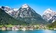 Leinwandbild Motiv austria - achensee lake