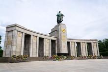 The Soviet War Memorial Erecte...