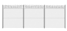 Chain-link, Rabitz Fence Fragm...