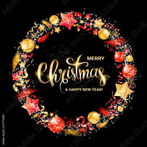 Merry Christmas and New Year 2020 - Buy this stock vector