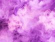 Leinwandbild Motiv fusion of purple smoke in motion isolated on black background