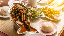 Tom Yum Fish Thai Food Is One Of The Delicious Dishes On The Table.