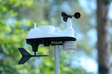 Part Of Mobile Weather Station (sensors) Working