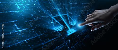 Fotografia Labor Law Lawyer Legal Business Technology Concept
