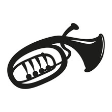 Classical Baritone Horn On The...