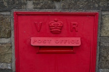 Old Postbox Detail