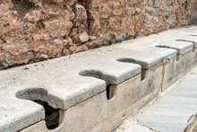 Public Multi Seat Toilet Marbl...