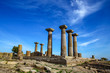 Assos ancient city and Athena Temple in Behramkale, Ayvacik