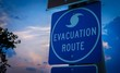 """canvas print picture - """"Evacuation Route"""" Sign"""