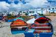 canvas print picture - Paternoster Village, West Coast Peninsula, Western Cape province, South Africa, Africa