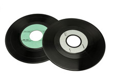 Vinyl Record 45 Rpm And 33 Rpm, To Deep-etch