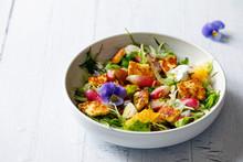 Fresh Summer Salad With Radish...