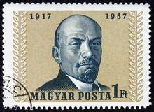 Postage Stamp Hungary 1957 Vla...