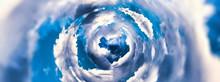 抽象的な雲の渦