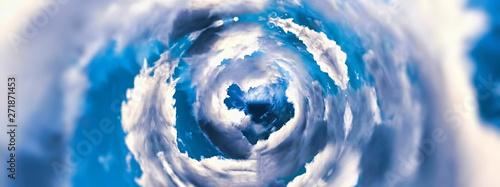 Obraz 抽象的な雲の渦 - fototapety do salonu