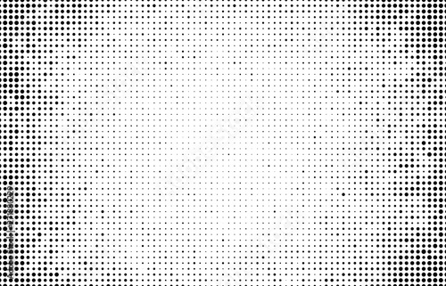 Photo Abstract halftone wave dotted background