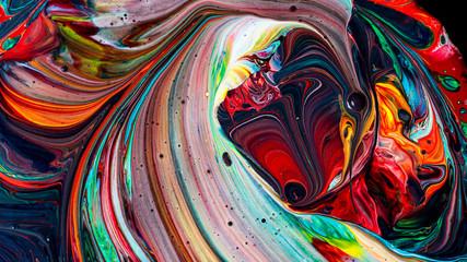 Piękny akrylowy kolor abstrakta tło