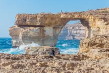 Azure Window In Gozo, Malta, N...