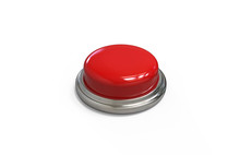 Red Round Push Button With Met...