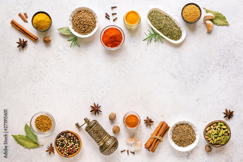 Fotografía  Spices Assortment