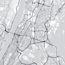 The Bronx Map. Light Map Of Th...