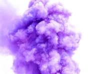 Purple Smoke Like Clouds Backg...