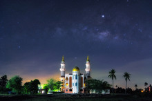 Milky Way Mosque Phetchaburi.