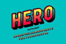 Comics Super Hero Style Font, ...