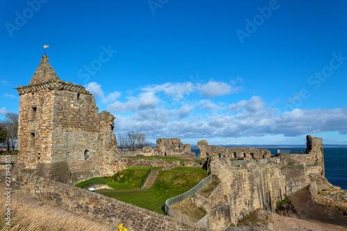 Ruins of St Andrews Castle Wallpaper Mural