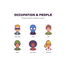 Occupation And People Avatar F...