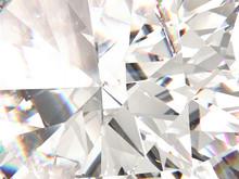 Realistic Diamond Texture Refr...