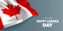 Happy Canada Day Greeting Card...