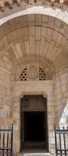 Entrance To Notre Dame De Sion Ecce Homo Convent, Jerusalem, Israel