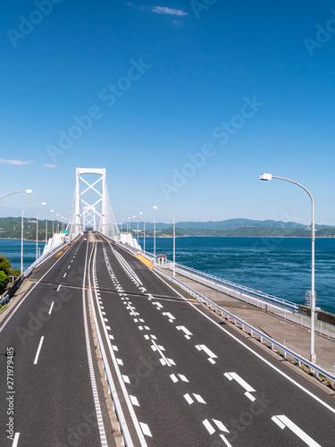 徳島県 鳴門市 渦潮 大鳴門橋