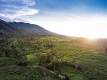Mountain Landscape, Bogor, Java, Indonesia