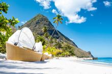 Tropical Beach With Beach Chai...