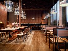 3d Render Of A Restaurant  Int...