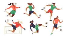 Womens Football Soccer Players...