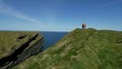 Amazing Atlantic coast of Ireland with its steep cliffs - travel photography