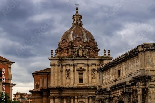 Fotobehang Rome, Italy, 05.25.2019 - Roman Forum, Palatine