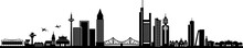 Frankfurt Am Main City Skyline