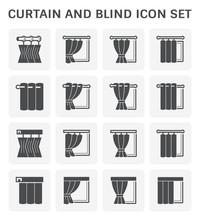 Curtain Blind Icon