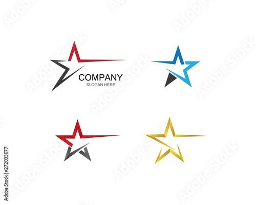 Obraz Star vector icon illustration design - fototapety do salonu