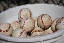 Baseball In A Bucket