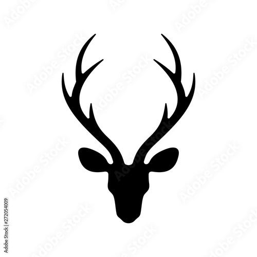 Canvas Print deer head